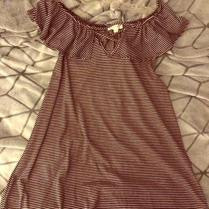 NWT LA Hearts Surplice Dress M